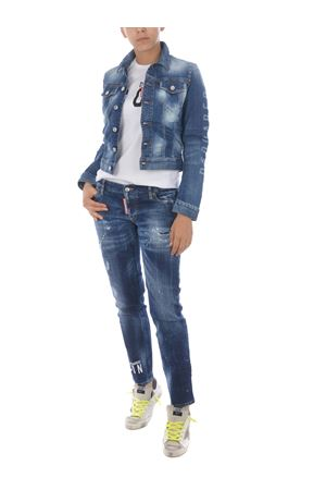 Dsquared2 classic jean jacket in stretch denim DSQUARED | 13 | S75AM0769S30342-470