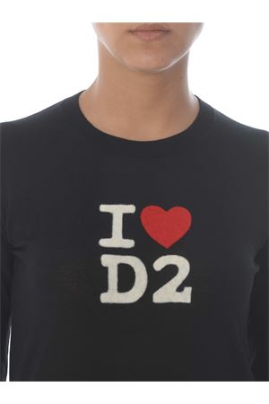 Dsquared2 sweater in wool. DSQUARED | 7 | S75HA0973S17399-900