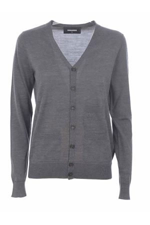 Dsquared2 cardigan in wool yarn DSQUARED | 850887746 | S75HA0990S16794-859M