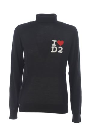 Dsquared2 wool turtleneck DSQUARED | 7 | S75HA0995S17399-900