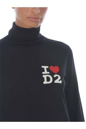 Dsquared2 wool turtleneck DSQUARED | 7 | S75HA0995S17399-900
