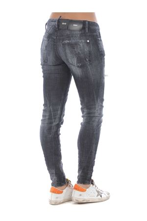 Dsquared2 medium waist skinny jean jeans in stretch denim DSQUARED | 24 | S75LB0345S30357-900