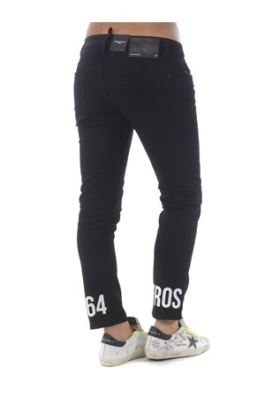 Dsquared2 jennifer cropped jean jeans in stretch denim DSQUARED | 24 | S75LB0347S30564-900