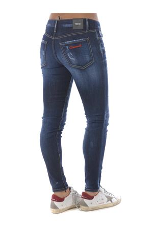 Dsquared2 medium waist twiggy jean jeans in stretch denim DSQUARED | 24 | S75LB0376S30685-470
