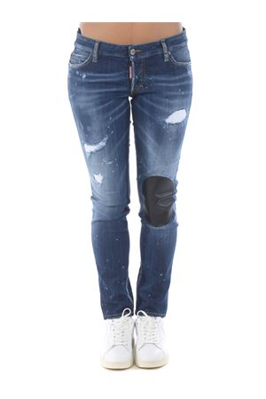 Dsquared2 jennifer jean jeans in super stretch stone denim DSQUARED | 24 | S75LB0408S30708-470