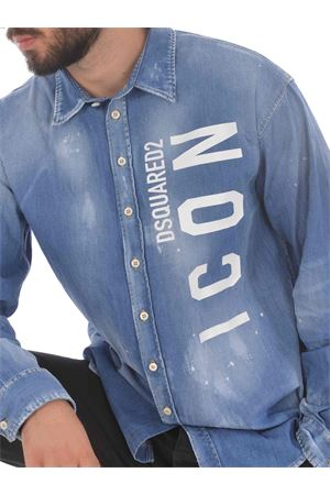 Dsquared2 Icon shirt in stretch denim DSQUARED | 6 | S79DL0006S30341-470