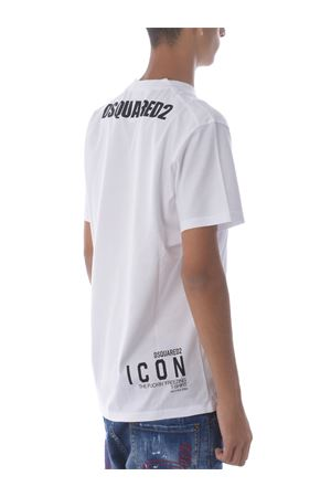Dsquared2 T-shirt in cotton. DSQUARED | 8 | S79GC0007S23009-100