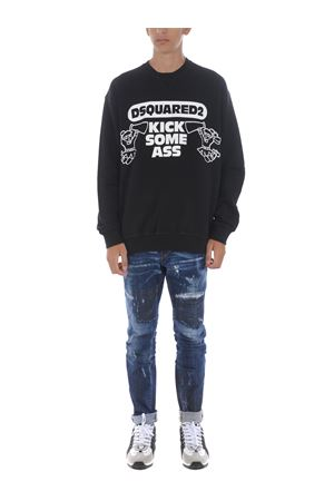 Dsquared2 sweatshirt in cotton. DSQUARED | 10000005 | S79GU0008S25042-900