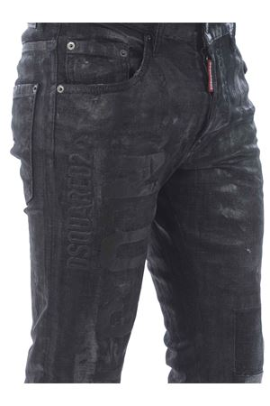 Dsquared2 skater jean jeans in coated stretch denim DSQUARED | 24 | S79LA0007S30357-900
