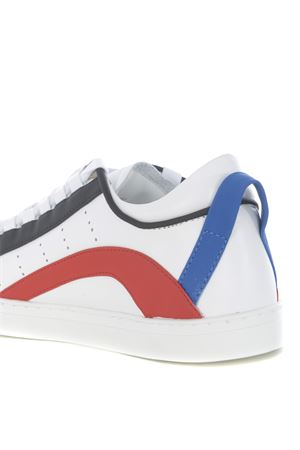 Sneakers uomo Dsquared2 low sole DSQUARED | 5032245 | SNM009011570001-M244