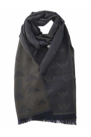 Emporio Armani scarf in wool blend EMPORIO ARMANI | 77 | 6250480A348-00084