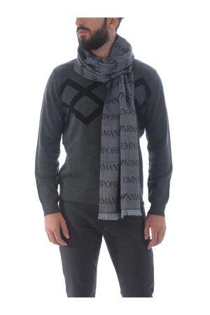 Emporio Armani scarf in wool blend EMPORIO ARMANI | 77 | 625053CC786-00041