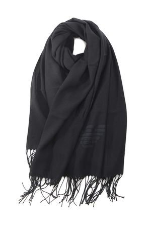 Emporio Armani scarf in viscose blend EMPORIO ARMANI | 77 | 6252148A318-00020