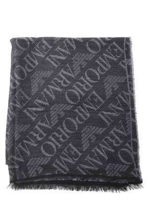 Emporio Armani scarf in viscose and wool blend EMPORIO ARMANI | 77 | 6252710A314-00020