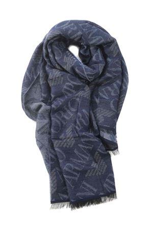 Emporio Armani scarf in viscose and wool blend EMPORIO ARMANI | 77 | 6252710A314-00134