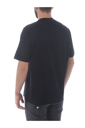 Emporio Armani T-shirt in cotton and lyocell blend EMPORIO ARMANI | 8 | 6H1TH01JBVZ-0002