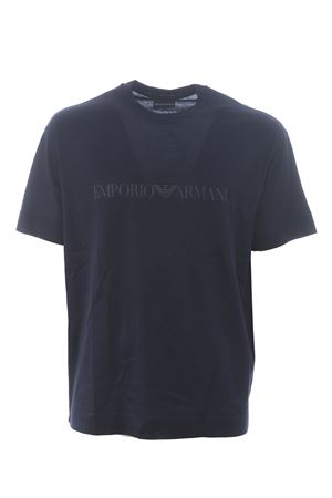 Emporio Armani T-shirt in cotton and lyocell blend EMPORIO ARMANI | 8 | 6H1TH01JBVZ-0920