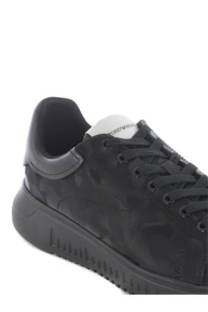 Emporio Armani sneakers in leather EMPORIO ARMANI | 5032245 | X4X264XM724-K001