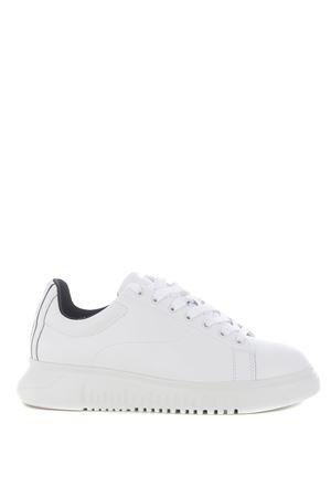 Emporio Armani sneakers in leather EMPORIO ARMANI | 5032245 | X4X312XM490-A222