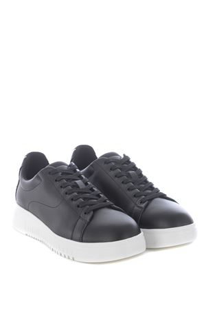 Emporio Armani sneakers in leather EMPORIO ARMANI | 5032245 | X4X312XM490-K001