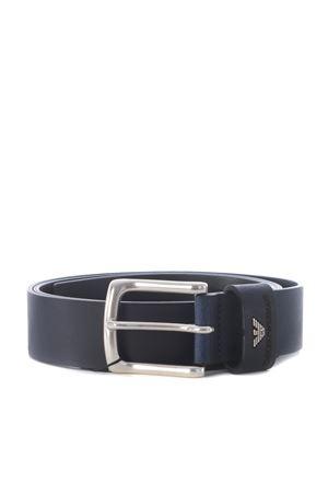 Emporio Armani leather belt EMPORIO ARMANI | 22 | Y4S198YDD4G-80013