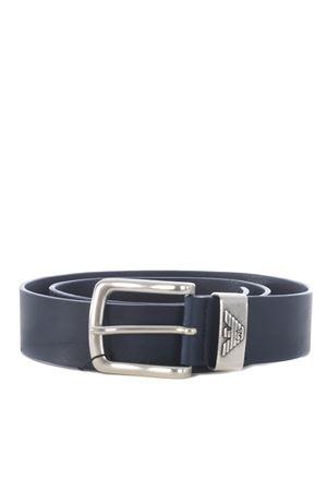 Emporio Armani leather belt EMPORIO ARMANI | 22 | Y4S201YDD6G-80013