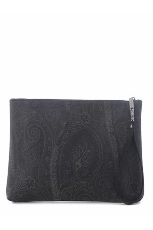Etro pouch in coated cotton canvas ETRO | 62 | 0H8028007-001