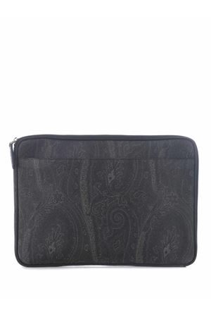Etro pouch in coated cotton canvas ETRO | 62 | 0H8538007-001