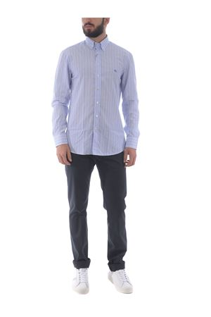 Camicia Etro Button down regulare in cotone a righe ETRO | 6 | 163653601-200