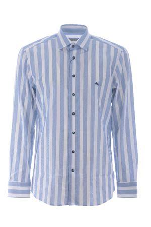 Etro Spread Logo shirt in cotton poplin ETRO | 6 | 1K5263110-200