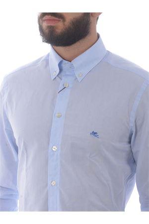 Etro Button down slim shirt in jacquard cotton ETRO | 6 | 1K9643109-250