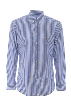 Camicia Etro Button Down Slim in cotone ETRO | 6 | 1K9643112-200