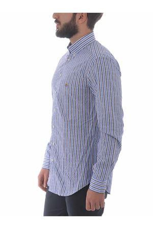 Etro Button Down Slim shirt in cotton ETRO | 6 | 1K9643112-200