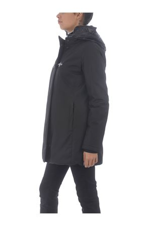 Fay toggle coat jacket in technical fabric FAY | 18 | NAW13413930QKJB999