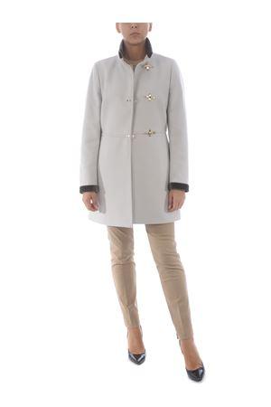 Fay Virginia coat in wool blend FAY | 17 | NAW50414000SGLB204