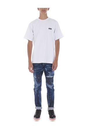 GCDS basic cotton T-shirt GCDS | 8 | CC94M021001WHITE