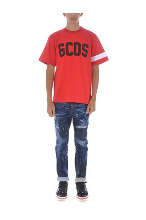 GCDS logo cotton T-shirt GCDS | 8 | CC94M021004RED
