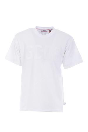 GCDS logo cotton T-shirt GCDS | 8 | CC94M021004WHITE