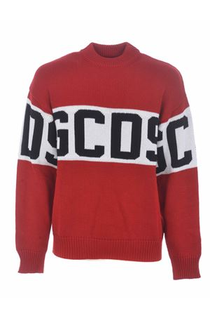 Maglione GCDS logo GCDS | 7 | CC94M021150RED