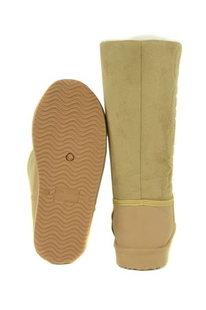 GCDS Winter Shearling Boot boots with rubber upper and suede upper GCDS | 76 | FW21W010098BEIGE