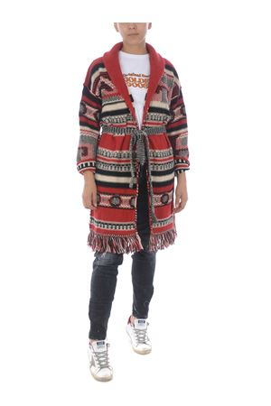 Golden Goose azul mixed cardigan GOLDEN GOOSE | 850887746 | GWP00238P220-80461