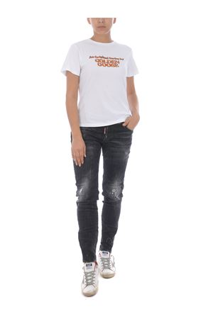 Golden Goose ania cotton t-shirt GOLDEN GOOSE | 8 | GWP00476P187-10272