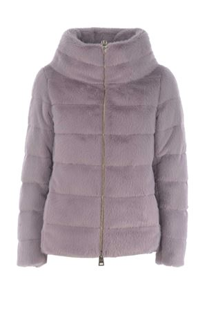 Herno down jacket in faux fur HERNO | 783955909 | PI1166D 123544645