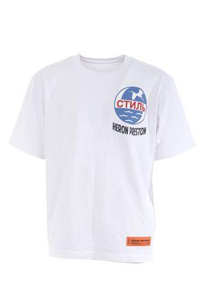 Heron Preston reg ctnmb cotton t-shirt HERON PRESTON | 8 | HMAA019F20JER0010110
