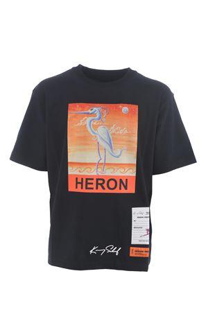 Heron Preston reg ks heron cotton t-shirt HERON PRESTON | 8 | HMAA019F20JER0151020