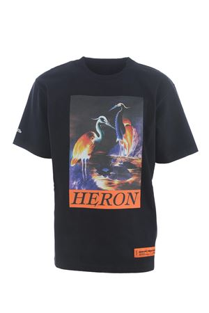 Heron Preston os heron times cotton t-shirt HERON PRESTON | 8 | HMAA020F20JER0021020