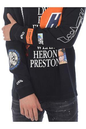 T-shirt Heron Preston reg collage HERON PRESTON | 8 | HMAB015F20JER0021001