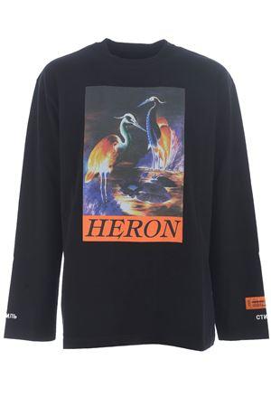 Heron Preston os heron times t-shirt in heavy cotton HERON PRESTON | 8 | HMAB016F20JER0021020