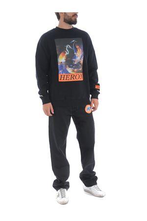 Heron Preston os heron times cotton sweatshirt HERON PRESTON | 10000005 | HMBA014F20JER0051020