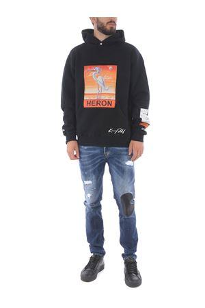Heron Preston heron cotton sweatshirt HERON PRESTON | 10000005 | HMBB010F20JER0091020